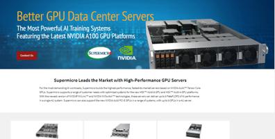 Better GPU Data Center Servers