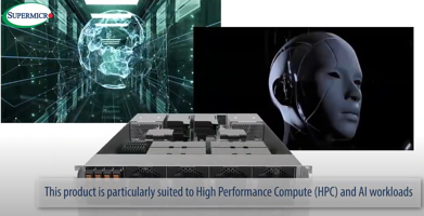 Supermicro SuperMinute 2U System with HGX A100 4GPU